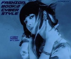 cyber, blackpink, and lalisa manoban image