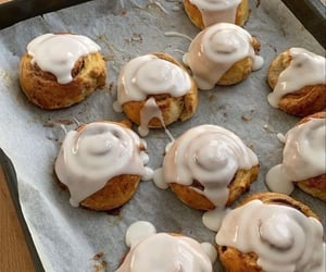 sweet, Cinnamon, and cinnamon roll image