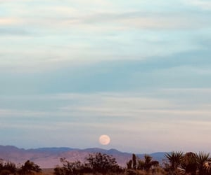 moon, beautiful, and nature image