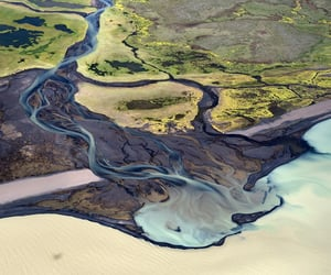 aerial photography, geography, and landscape image