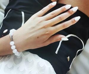 nail art, simple nails, and classy nails image