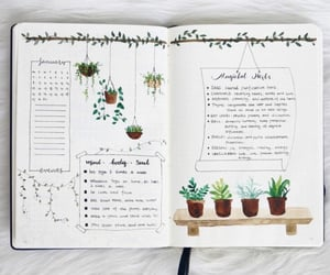bullet journal, bujo, and journaling image