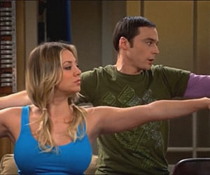 comedy, penny, and kaley cuoco image