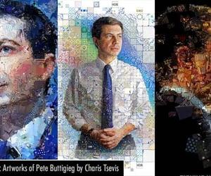 graphic design, photo manipulation, and photo mosaic image