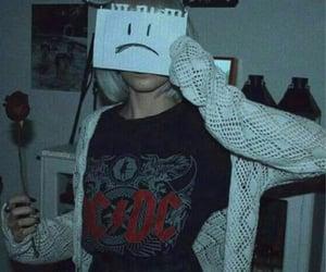 grunge, aesthetic, and sad image
