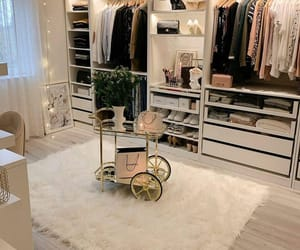 home, Blanc, and closet image