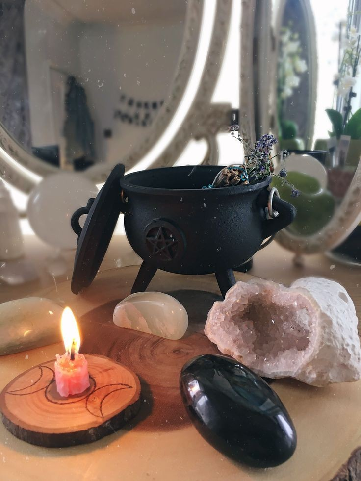 crystals, deco, and inspo image