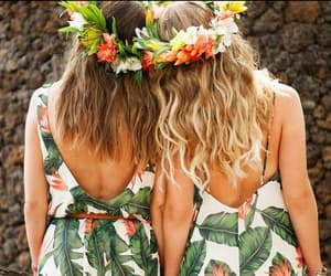girls, hair clip, and summer photography image