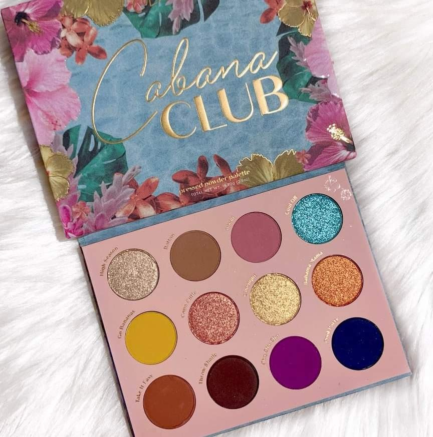 beauty, pink, and colourpop palette image