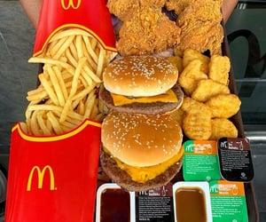 cheeseburger, hamburger, and chips image