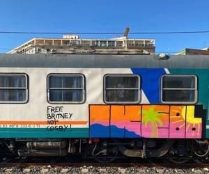 2000s, graffiti, and outside image