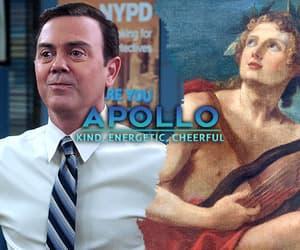 apollo, gif, and god image