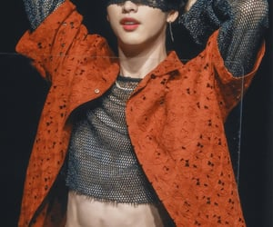 abs, blindfold, and jung wookjin image