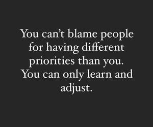 blame, priorities, and calm image