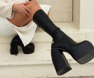 accessories, boots, and shoes image