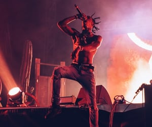 concert, red, and dreads image