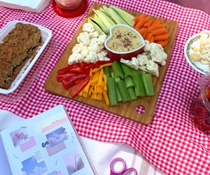 picnic, charcuterie board, and hangout image