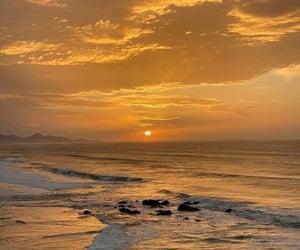 atardecer, ocean, and océano image