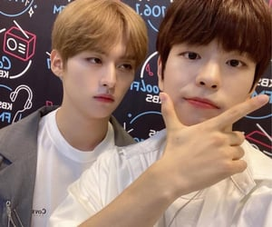 skz, lee know, and seungmin image
