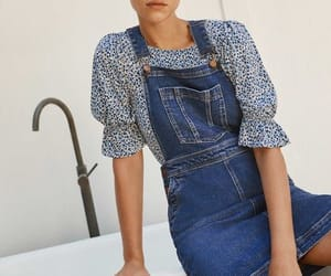 denim, dungarees, and overall image