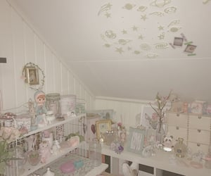 coquette, shabby chic, and dollette image