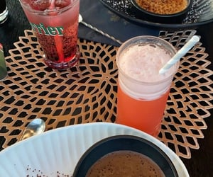 cocktail, creme brulee, and ete image
