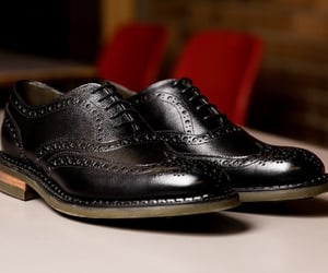 fashion, oxford, and shoes image