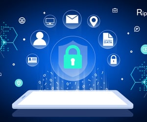 mobile application, mobile app development, and security measures image