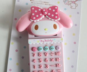 cute, my melody, and kawaii image