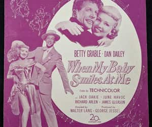 Betty Grable, etsy, and dan dailey image