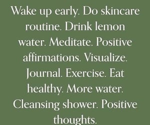 happy, water, and routines image