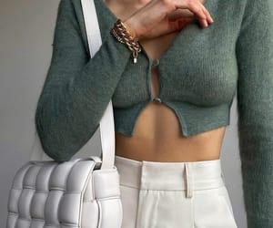 blogger, bottega veneta, and outfit image