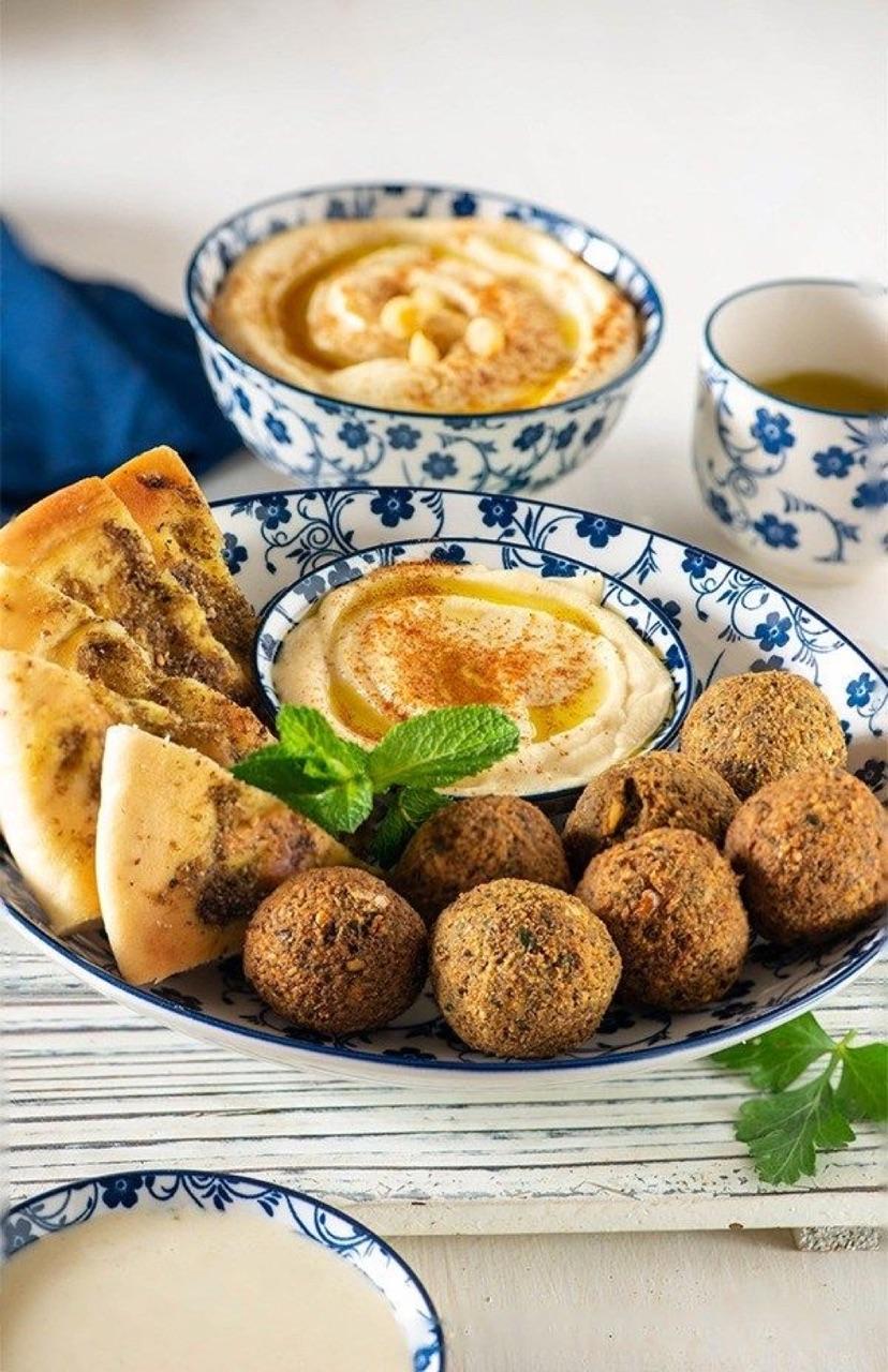 arabian, food, and فطور image