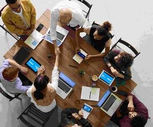 social media, web development, and digital integration image