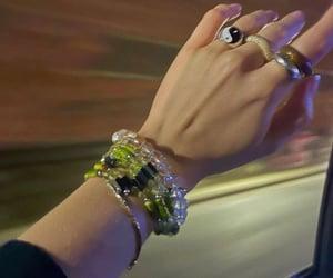 beads, chunky rings, and claudia sulewski image