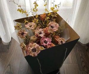 aesthetics, beige, and flowers image