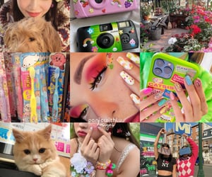 colorful, icons, and moodboard image