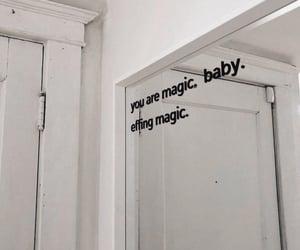 quotes, magic, and mirror image