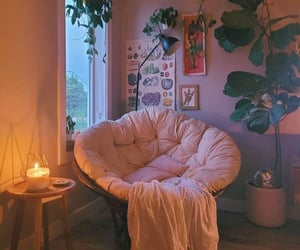 apartment therapy, bohemian decor, and house plants image