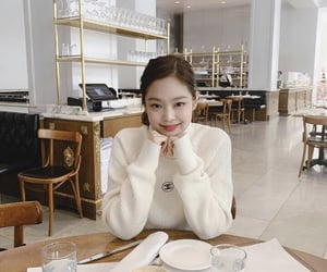 jennie and chanel pullover image