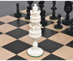 luxury chess pieces, buy chess set, and chess pieces for sale image