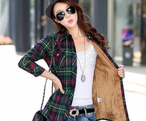 autumn, blouses, and clothing image