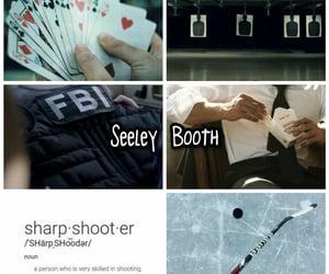 bones, fbi, and seeley booth image