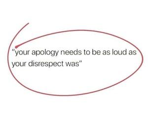 apology and loud image