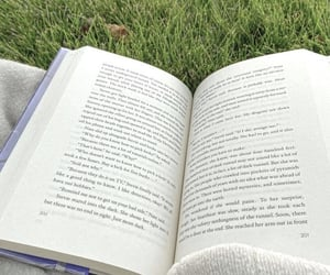 bibliophile, book, and nature image