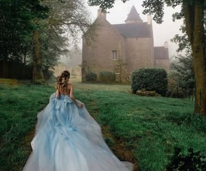 castle, dress, and prince image