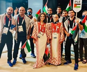 olympic games, palestine, and olympics image