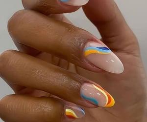 nails, style, and nail art image