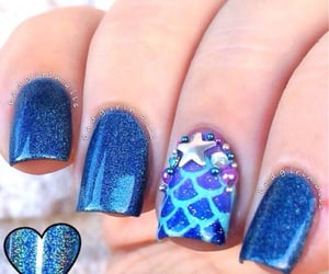 aesthetic, nails, and nail inspiration image