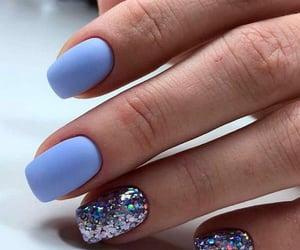 glitter, nail polish, and sparkle image
